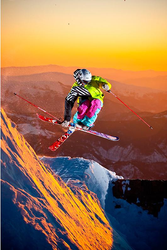 Mathias Wecxsteen champion du monde de ski acrobatique
