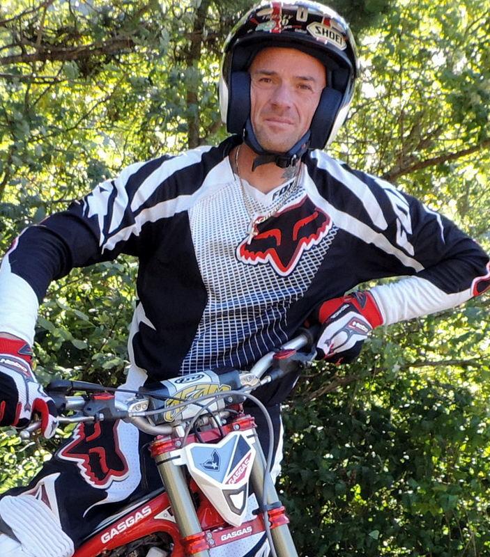 Patrice Thibault multi champion de France de trial